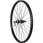"Quality Wheels Rear Wheel Clydesdale XL Centerlock Disc Brake 26"" 135mm QR  Shimano Deore / Velocity Cliffhanger Black"