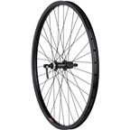Quality Wheels Rear Wheel Clydesdale XL Centerlock Disc Brake 700c 135mm QR Shimano Deore / Velocity Cliffhanger Black