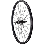 Quality Wheels Rear Wheel Clydesdale XL Centerlock Disc Brake 650b 135mm QR  Shimano Deore / Velocity Cliffhanger Black