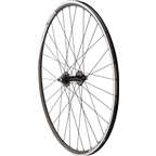 Quality Wheels Track Rear Wheel 700c 32h 130mm Surly Ultra New Single Fixed Flip Flop / Alex DA22 / DT Industry All Black