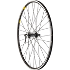 Quality Wheels Road Front Wheel 650c 32h Shimano 105 5800 / Mavic Open Pro / DT Champion All Black