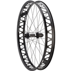 """Quality Wheels Fat Rear Wheel 26"""" DT 350 177mm x 12mm / Surly Other Brother Darryl / All Black"""