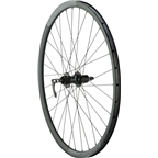 Quality Wheels Rear Road Disc 700c 135mm QR and 142mm 12mm Convertible 32h Formula / Aileron / DT Factory All Black