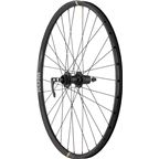 Quality Wheels Rear Disc Wheel: 650B+ Road Plus 135mm QR and 142mm 12mm Convertible 32h Formula / KOM i23 / DT Factory Black
