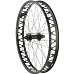 """Quality Wheels Rear Wheel Fat Disc 26"""" 177mm x 12mm XD 32h Formula / Surly Other Brother Darryl / All Black"""