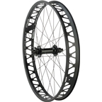 """Quality Wheels Rear Wheel Fat Disc 26"""" 197mm x 12mm XD 32h Formula / Surly Other Brother Darryl / All Black"""