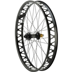 Quality Wheels Fat Rear Disc Hope Pro2 FatSno 177mm x 12mm XD 32h / Surly Other Brother Darryl Tubeless / All Black