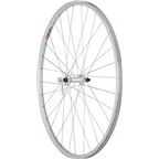 "Quality Wheels Front Wheel Value Series 27"" 32h 100mm QR Formula / Alex AP18/ DT Industry Silver"