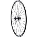 Quality Wheels Rear Road Rim Brake 700c 130mm QR 11-speed Alex DA22 Black / Shimano Tiagra RS400 Black / DT Industry