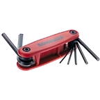 Bondhus Gorilla Grip Folding Hex Key Set 2-8mm