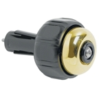 Incredibell Bar End Bell: Brass