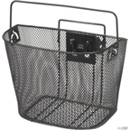 Dimension Mesh Basket with Quick Release Mount: Black