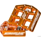 "Straitline De Facto Platform Pedal 9/16"", Orange"