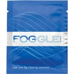 Foggle Anti-Fog Cleaning Towelettes, Six Pack