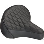 Dimension Quilted Cruiser Saddle Black