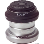 "Ritchey Logic 1"" Threadless Headset, Black/Silver 26.4 crown"