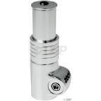 "Zoom HeadsUp2 1-1/8"" 75mm extension Silver"