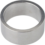 """Wheels Manufacturing Aluminum 1 1/8"""" Headset Stack Spacers - Silver"""