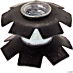 "Aheadset Star-Nut for 1-1/8"" Steel or Aluminum Steerer"