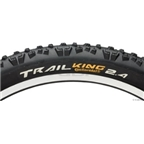 "Continental Trail King 26 x 2.4"" Black, Black Chili Folding"