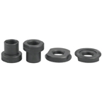 Surly NEW HUB Rear Hardware Kit: 2 Sleeve Nuts 2 Locknuts