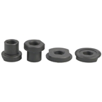 Surly NEW HUB Front Hardware Kit: 2 Sleeve Nuts 2 Locknuts