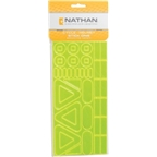 Nathan Cycle/Helmet Reflective Yellow Stick-Ons 40