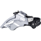 Shimano Deore M590 9-Speed Triple Top-Swing Dual-Pull Front Derailleur