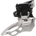 SRAM X.0 2x10 34.9mm High Clamp Dual Pull Front Derailleur