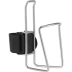 TwoFish Quick Water Bottle Cage: Stainless (No Bottle Included)