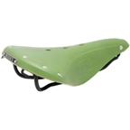 Brooks B17 Standard Apple Green w/Black Rail