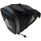 Axiom Rider DLX Seat Bag: Black/Gray; LG