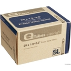 "Q-Tubes 700c x 28-32 (27 x 1-1/4"") Superlight 48mm Presta Valve Tube"