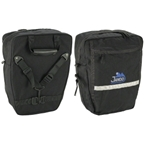 Jandd Mini Mountain Pannier Set: Black
