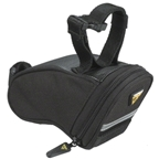 Topeak Aero Mini Wedge Seat Bag: Black