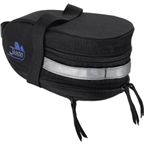 Jandd Mountain Wedge Expandable Seat Bag: Black