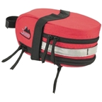 Jandd Mountain Wedge Expandable Seat Bag: Red
