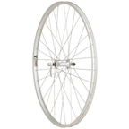 Quality Wheels Value Series Silver Pavement Front Wheel 700c Formula / Alex Y2000 Silver