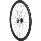 Quality Wheels Front 700c Blackout 32h, H+Son SL42, All-City Track