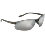 Native Dash XP Sunglasses: Charcoal with Silver Reflex Lens IC