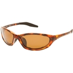 Native Silencer Sunglasses: Maple Tort with Brown Polarized Lens