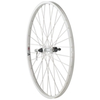 Quality Wheels Value Series 1 700c Formula Freehub 135mm 32h, Alex Y2000 Silver, 2.0 Silver, Br, 3x