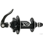 SRAM X.9 6-Bolt Disc Front 28H Black w/ QR Skewer