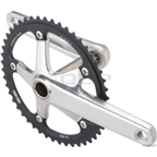 SRAM Omnium 165mm Silver 48T Crankset with GXP Bottom Bracket