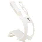 All-City Nylon Double Toe Clip Medium White