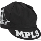 All-City Hennepin Bridge Cap: Black/White