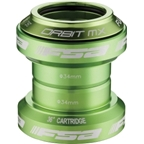 "FSA Orbit MX 1-1/8"" Threadless Green Headset"