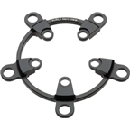 Surly Mr. Whirly Spider, 58/110mm BCD, Black