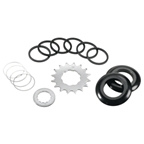 Wheels Manufacturing SSK-3 Single Speed Kit with Chain Guides, Black