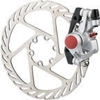 Avid BB5 Road Disc Brake Caliper & 160mm G2CS Rotor Platinum Front/Rear